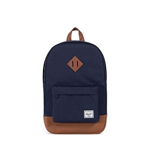 Herschel Supply Co. Heritage Mid-Volume Backpack Crosshatch/Black Rubber, One Size (Herschel Heritage-rucksack)