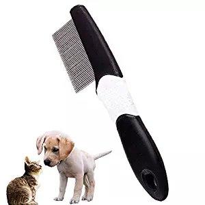 Pet Grooming Tools antipulci extra fine Tooth pettine pidocchi e Nit Remover per cani...
