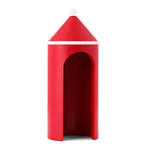 Tivoli by Normann Copenhagen - Dekofigur, Holzfigur - Wachhäuschen Sentry Box - Klein - Maße (ØxH): 9 x 22,5 cm -