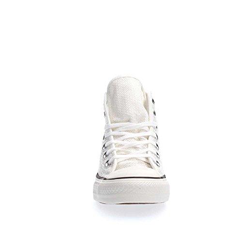 Converse - Converse Ctas Lux Mid SChaussures de Sport Femme Blanc Blanc