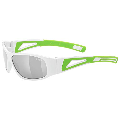 Uvex Sportstyle 509 Kinder Fahrrad/Sport Brille weiß/grün
