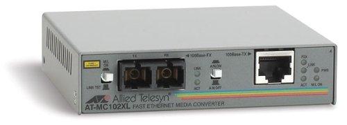 Allied Telesis AT-MC102XL - convertisseurs de support réseau (100TX/100FX, Avec fil, 0 - 40 °C, -20 - 80 °C, 5 - 95%, UL-Cul, CSA/CSA, NRTL, TUV, CE)