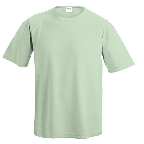 JAMES & NICHOLSON Herren T-Shirt, Einfarbig blanc craie