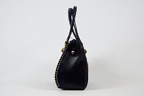 Tasche Shopper Damentasche Handtasche Luxus Taymir 2 Jahre Garantie versch Farbe Blau