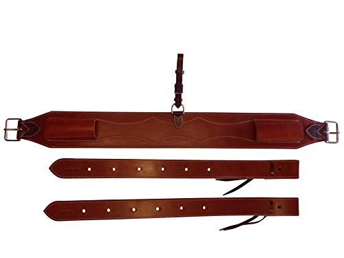d5f33d10520 Thor Equine Set Western Flank Billet e Back Cinch Leather Chestnut
