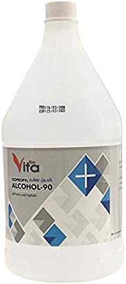Alcohol Isopropyl Clear Liquid 1gallon, 3.75ltr