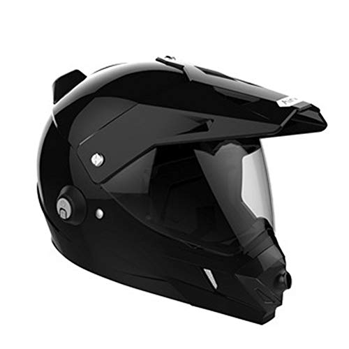 Preisvergleich Produktbild LETU Intelligente Offroad-Motorrad-Kamera Helm,  D. O. T Zertifiziert ATV Motorrad Full Helm Helm Road Race MX Helm Reit Rekorder Bluetooth-Kamera Headset Integrierten Helm Extremsport