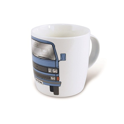 VW Collection by BRISA VW Bus T3 Kaffeetasse Kaffeebecher, Blau