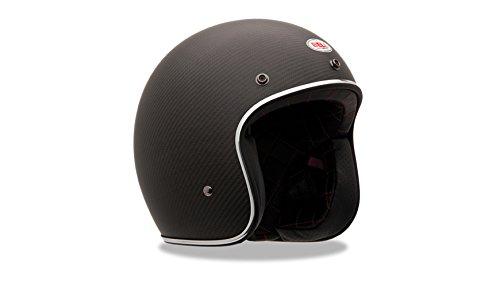 Bell Helmets Street 2015 Custom 500 Carbon Casco Adulto, color Negro Mate, talla XXL