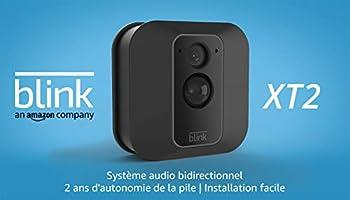 Blink XT2 | Caméra de sécurité connectée, Intérieur/extérieur, avec stockage dans le Cloud, système audio...