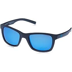 e5c3c1cf31 Julbo Beach Gafas de sol polarizadas Mujer, Gris/Logo azul