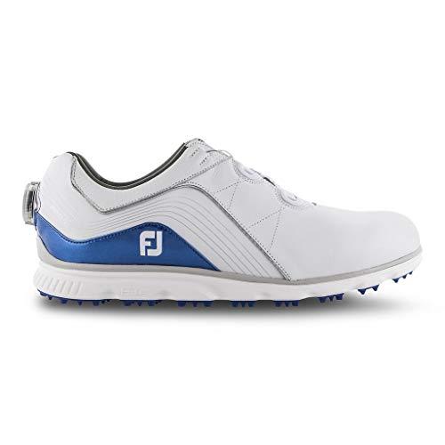 Foot Joy Pro/SL, Chaussures de Golf Homme, Blanc...