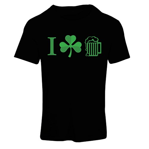 t-shirt-femme-the-symbols-of-st-patricks-day-irish-icons-medium-noir-multicolore