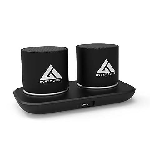 Boult Audio Bassbox Vibe Portable 5W Wireless Bluetooth Speakers (Black)