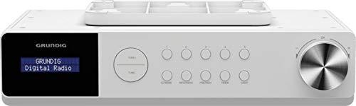 Grundig DKR 1000BT DAB+ Küchenradio mit Bluetooth und DAB+ Empfang Weiß