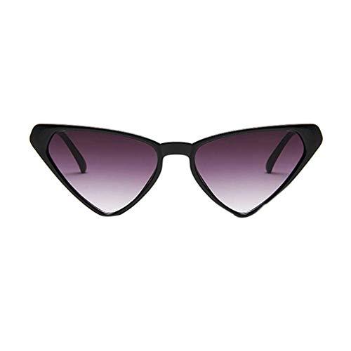 Jinzuke Unisex Triangular Sonnenbrille Frauen Männer Mädchen Männliche Persönlichkeit Brillen Triangular Brillen -