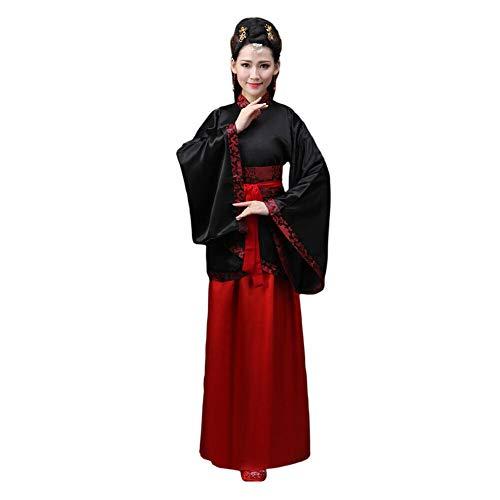 nzug Uralt Chinesischer Stil Hanfu Drucken Kostüm National Traditionell Cosplay Performance Kostüm ()