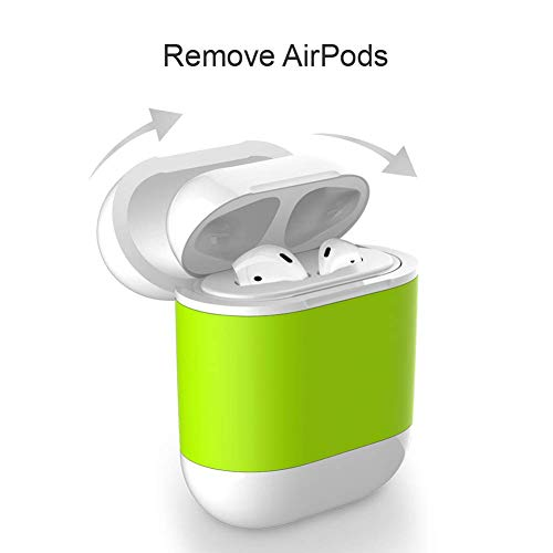 Custodia wireless compatibile Airpods Apple auricolari bluetooth, custodia wireless cuffie bluetooth iphone - ricarica wireless, compatibile con qualsiasi caricabetterie wireless Qi - wireless charger