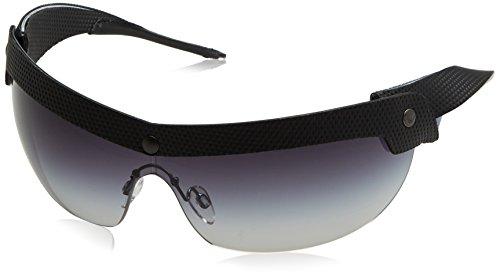 Emporio Armani Herren EA4021 Sonnenbrille, Schwarz (Black/Blue 51388G), One size (Herstellergröße: 40)