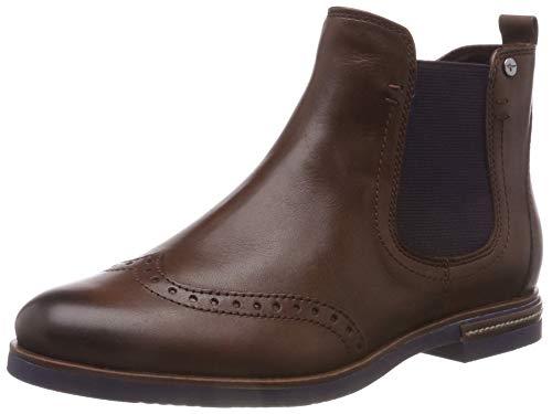 Tamaris Damen 25027-31 Chelsea Boots, Braun (Cognac 305), 38 EU