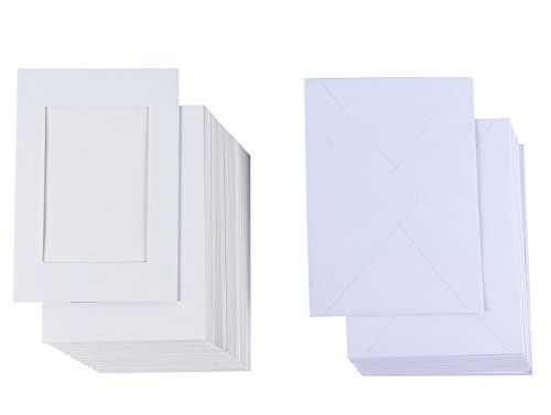 Tarjetas de papel para insertar fotos