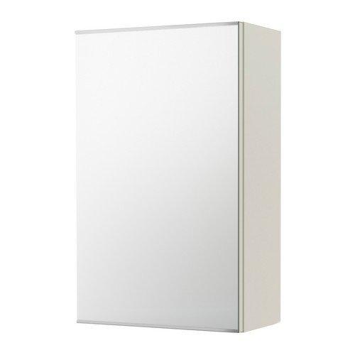 IKEA LILLANGEN  Spiegelschrank mit 1 Tür weiß   40x21x64 cm