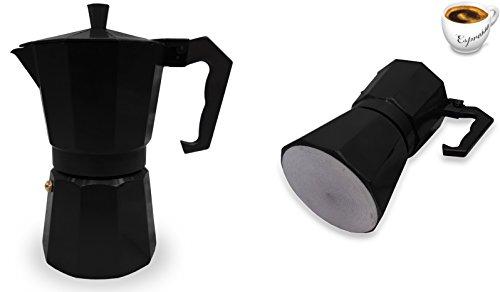 Innova® Italian Espresso Latte Cafetiere Coffee Continental Moka Stove Top Maker 1 Cup 3 Cups 6 Cups Percolator 31sA3ojW5WL