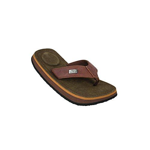 Cool Shoes Deluxe Pi CHESTNUT , Marrone Infradito Sandali Ciabatte Spiaggia Bagno - 39/40, Marrone, Scamosciato