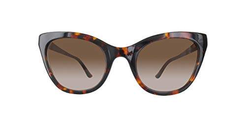 Moschino Damen MO138S-02-48 Sonnenbrille, Braun, 56