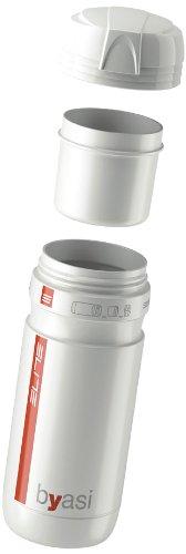 eLITe Byasi Fahrrad-Trinkflasche zum Mitnehmen Einheitsgröße weiß