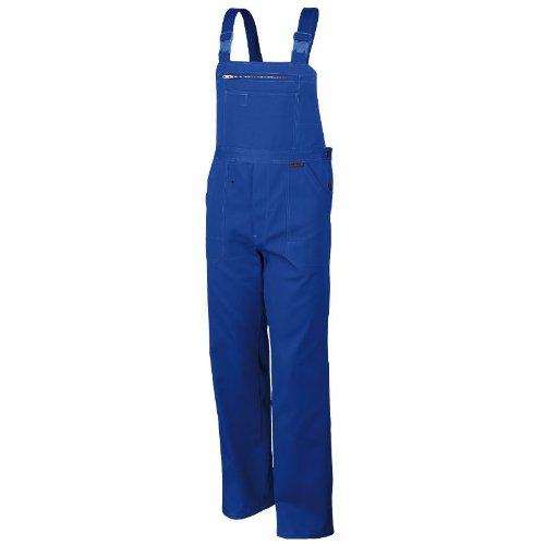 Robuste Latzhose aus Baumwolle BW320 - Arbeitslatzhose, Arbeitshose, Blaumann OVP - kornblau