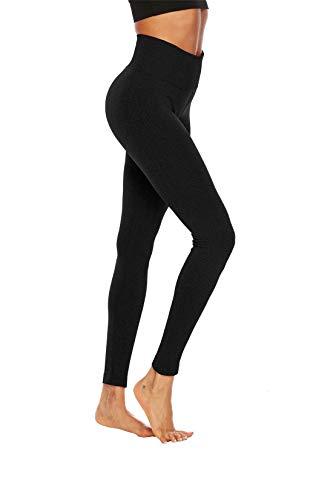 Fliegend Mujer Leggins Push Up Pantalone Deportive Mallas Cintura Alta Yoga Fitness Leggings Gym Workout Pantalones M