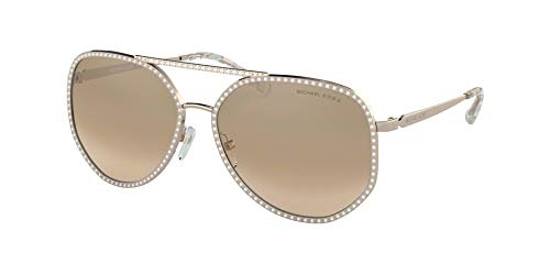 Ray-Ban Damen 0MK1039B Sonnenbrille, Shiny Rose Gold, 58