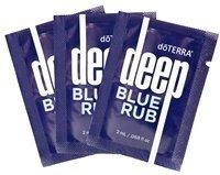 doTERRA Deep Blue Rub Samples by doTERRA - Blaue Rainfarn Ätherisches Öl