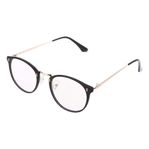 VIccoo Retro Men Women Clear Lens Eyeglass Frames Designer Optical Computer Glasses Blue Light Blocking