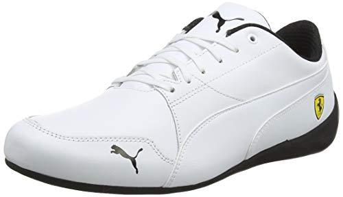 Puma Unisex-Erwachsene SF Drift Cat 7 Sneaker, Weiß White 06, 40 EU (Puma Schuhe Ferrari Weiss)