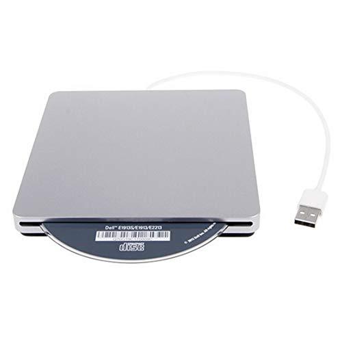 LouiseEvel215 USB-Externer Steckplatz im DVD-CD-Brenner Burner Superdrive für Apple für MacBook Air Pro Bequemlichkeit zum Abspielen von Musikfilmen Dvd-ram Macbook Pro