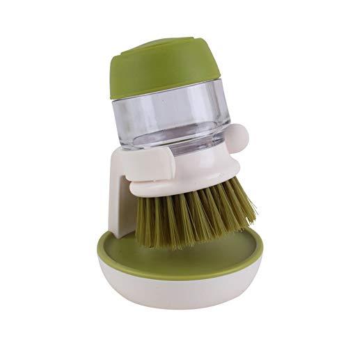 Hydraulik-Wäschputzen Convenient Kitchen Reinigung Automatik Flüssig-Wäsche-Dish Reinigung Pinsel Küche Creative Protection Hand Gadget,Green