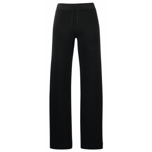Fruit of the Loom Pantalon de jogging pour femme Noir - Noir