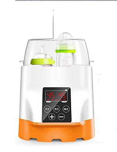 YHML Flaschenwärmer,sterilisator für Baby Dampfsterilisator,Heizung, konstante Temperatur, Doppelflasche, Desinfektion