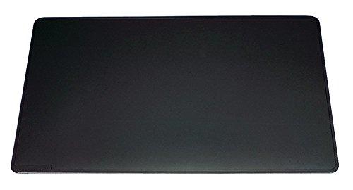 DURABLE Hunke & Jochheim Schreibunterlage mit Dekorrille, PVC, 650 x 520 mm, 2 mm, schwarz