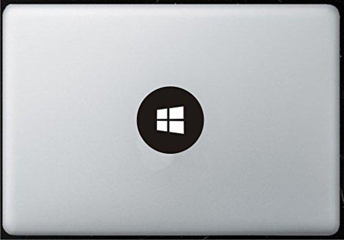 Adesivo con logo Windows8 per MacBook, Air, Pro, tutti i modelli.