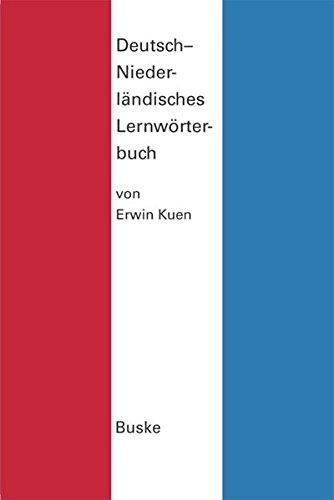Deutsch-Niederländisches Lernwörterbuch