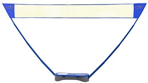 NILS Netz Tennis Badminton 2in 1mit Zubehör, Notebook/Höhe verstellbar