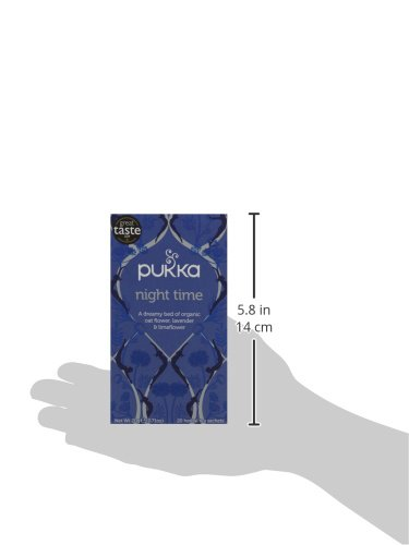 Pukka Night Time, Organic Herbal Tea With Valerian