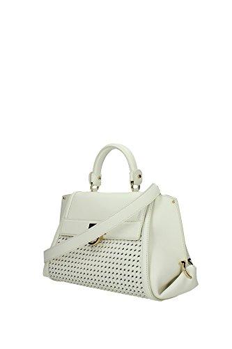 21F767010640115 Salvatore Ferragamo Sac à main Femme Cuir Blanc Blanc