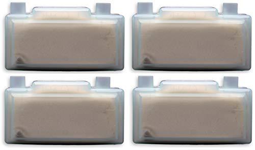 4 Stück quigg Anti-Kalk-Kartusche/Ersatz-Anti-Kalk-Kartusche für die Quigg Dampfbügelstationen DBS 2200, 2400, 3000, 5000 und Condel DBS700 (paßt NICHT bei QUIGG DBS 700!)