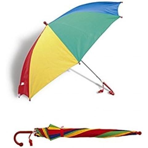 Anker-Ombrello per bambini, colori dell'arcobaleno, per pioggia/sole con fischietto .... Bargains Hut