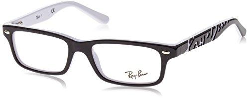 Ray-Ban Jungen 0RY 1535 3579 48 Brillengestelle, Schwarz (Negro)
