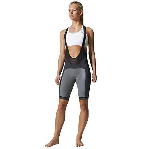 adidas Supernova Bibshort Women Radsporthose Trägerhose FORMOTION grau (S) -